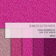 free glitter digital paper textures pastel glitters fonts