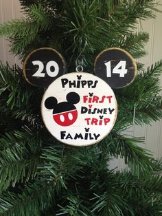 First Trip to Disney 1st Disney Trip 1st Family Disney Vacation Mickey Mouse Personalized Character Autographs Disney Fish Extender Gift