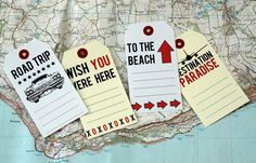 travel tags freebie. Love these. You could use them as a journaling card.