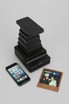 Instant Lab Photo Printer By Impossible Project! Transform your digital photos into analog instant photos -- just download the iPhone app and get started. Sweet!