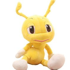 Cute ant plush toy doll Christmas gift birthday gift Valentines Day gift50cmyellow * Continue to the product at the image link.