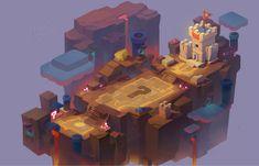 ArtStation - Q版山中城堡地形规划2——名动漫学员场景原画作品, 名动漫CG数娱 Top Down Game, Map Games, 2d Game Art, Sci Fi Environment, Mobile Art, Game Concept Art, Color Splash, Artist, Artwork