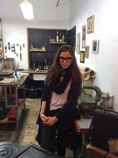 Хозяйка мастерской Hilla Toledano