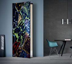Türtapete selbstklebend Möbel & Wohnen Holztür Folien 316171