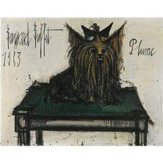 PLUME By Bernard Buffet ,1963