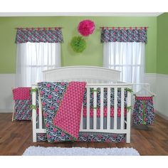 Trend Lab Lucy 5-piece Crib Bedding Set | Overstock.com Shopping - Big Discounts on Trend Lab Bedding Sets