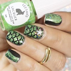 mermaid scales, green, glitters, nailcharms, vinyls, stencils, mani, nails