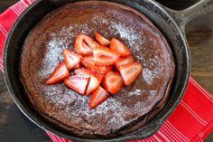 Chocolate Dutch Baby Recipe by Two Peas & Their Pod