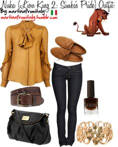 """""""Nuka (Lion King 2: Simba's Pride) Outfit:"""" by martinafromitaly ❤ liked on Polyvore"""