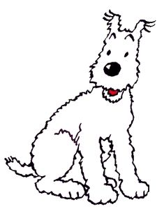 milou Fox Terrier, Animal Paintings, Animal Drawings, Tin Tin Cartoon, Logo Animal, Fred, Bd Comics, Comic Movies, Vintage Comics