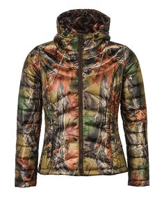 Highland Timber Ultra-Thermic Silk Padded Quilted Hooded Jacket