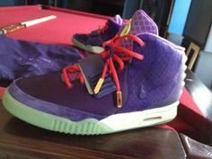 Nike Air Yeezy 2 Red Purple x Kobe Bryant « Cheetah »
