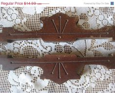 Sale 40 Off Pair of Antique Victorian Wooden Trim by StarPower99, $8.99