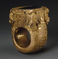 Ring of Pope Paul II [Italy (Rome)] (1989.79) | Heilbrunn Timeline of Art History | The Metropolitan Museum of Art