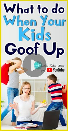 There's this one liner I usually use whenever I talk to my kids. Watch this and try it out!