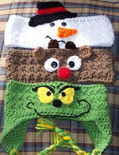 Crochet kids headbands ear warmers head bands 56 New Ideas Love Crochet, Crochet For Kids, Crochet Baby, Crochet Granny, Beautiful Crochet, Christmas Crochet Patterns, Holiday Crochet, Yarn Projects, Crochet Projects
