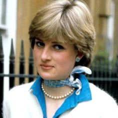 Princess Diana in the early days....