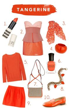 adore this @Glitter Guide post on Tangerine Tango!