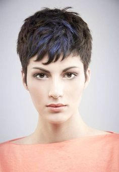 Today we have the most stylish 86 Cute Short Pixie Haircuts. We claim that you have never seen such elegant and eye-catching short hairstyles before. Pixie haircut, of course, offers a lot of options for the hair of the ladies'… Continue Reading → Long Face Haircuts, Pixie Haircut For Thick Hair, Short Pixie Haircuts, Thick Haircuts, Stylish Haircuts, Haircut Short, Short Bangs, Really Short Hair, Super Short Hair
