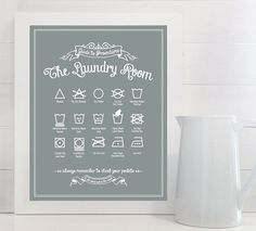 Original Guide to Procedures: The Laundry Room by letteredandlined