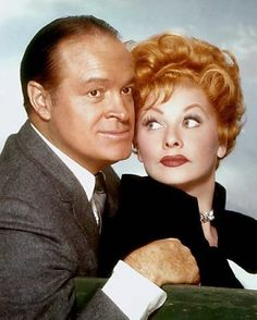 Lucy and Bob Hope - two delights from TV