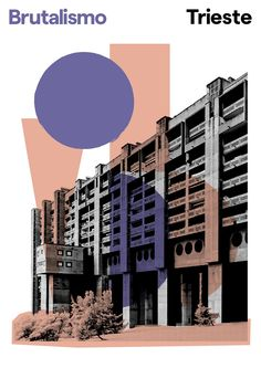 Brutalismo is a poster series of Italian brutalist architecture by London-based graphic designer Peter Chadwick Architect Sketchbook, Architect Drawing, Architecture Panel, Architecture Graphics, Architecture Posters, Classical Architecture, Beautiful Architecture, Landscape Architecture, Architecture Design