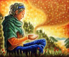Sou Luz, Sou Paz, Sou Prosperidade, Sou Abundância. Namastê _/\_.