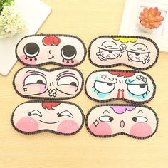 5PCS HOT SALE 3D Portable Soft Travel Sleep Rest Aid Eye Mask Cover Eye Patch Sleeping Mask Blindfold Nap Eye Shade For Women