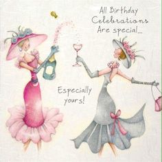 Birthdays are special like you!