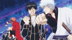 The return of Gintama. Gintama Gif, Gintama Funny, All Anime, Me Me Me Anime, Anime Art, Silver Samurai, Sengoku Basara, One Piece Drawing, Manga Anime