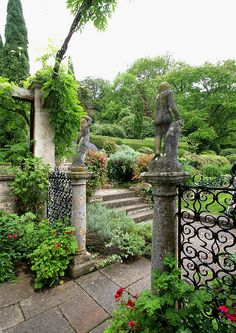 The Peto Garden at Iford Manor, Wiltshire, UK