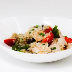 Low FODMAP stegte ris med kylling