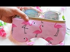 Sewing Patterns Free, Free Pattern, Crochet Patterns, Pouch, Wallet, Diy Gifts, Sunglasses Case, Coin Purse, Purses