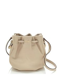 Kate Spade New York Kacey Lane Lether Small Poppy Bucket Crossbody Bag