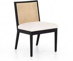 Mixing textures, the Lisbon Cane Dining Chair offers the perfect contrast of natural materials. The retro dining chair brings a global feel to your spaces, allowing you to embrace wanderlust without ever leaving home. Plywood Furniture, Yard Furniture, Dining Furniture, Online Furniture, Retro Dining Chairs, White Dining Chairs, Accent Chairs For Living Room, Cool Chairs, High Chairs