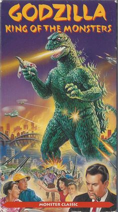 Godzilla (and some guy with a pipe who may or may not give a toot.)