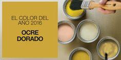 Inspiración de fin de semana: Ocre dorado, color del año 2016 según Color Futures | Etxekodeco