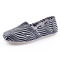 buy cheap #Toms Womens #Stripe Canvas #Shoes White |discount
