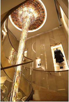 Fendi Flagship Store | Interior Retail Store Design in Paris, France http://www.oscarono.fr/ for inspirations