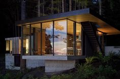 Coastal Retreat in the Pacific Northwest, Mountains