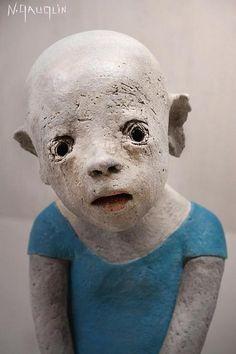 Art Sculpture, Pottery Sculpture, Abstract Sculpture, Wire Sculptures, Bronze Sculpture, L'art Du Portrait, Art Corner, Contemporary Sculpture, Art Installation