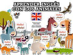 Aprender #inglés con los animales de Dada Company