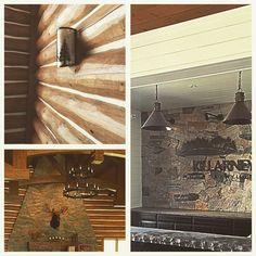 Light fixtures by HillTop at #killarneymountainlodge