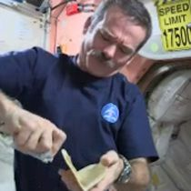 WATCH: How to make a sandwich in space! #food #space #astronaut