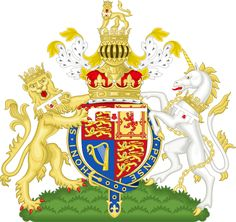 Royal Coat of Arms of the United Kingdom of Great Britain and Northern Ireland Prince Georges, Elizabeth Ii, Commonwealth, House Of Stuart, King Robert, King Henry, Kingdom Of Great Britain, England And Scotland, England Ireland