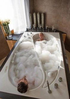 Bath for two  20 luxurious baths. Put me in there