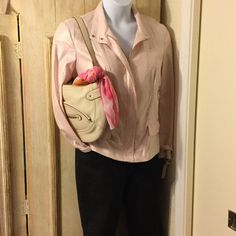 Jacket gorgeous shimmer!  SALE Linen & rayon size xl cute detail & shimmers Peck & peck Jackets & Coats