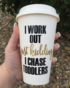 perfect travel mug for mom!