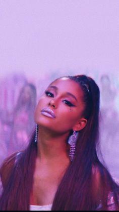 Wallpaper of ariana grande Ariana Grande Fotos, Ariana Grande Pictures, Ariana Grande Makeup, Ariana Grande Cute, Demi Lovato, Ariana Grande Background, Ariana Grande Wallpaper, Divas, Purple Aesthetic