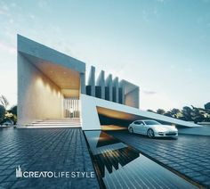 Iconic Legends: The 10 Greatest Modern Architects of Our Time Architecture Design, Modern Architecture House, Futuristic Architecture, Residential Architecture, Modern Exterior, Exterior Design, Modern Villa Design, Modern Architects, Modern Mansion